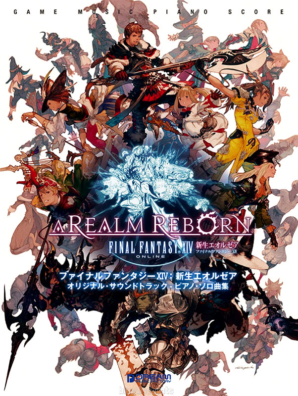 Details about DHL) Final Fantasy XIV Piano Solo Collections Score Book  Sheet Music FFXIV FF 14