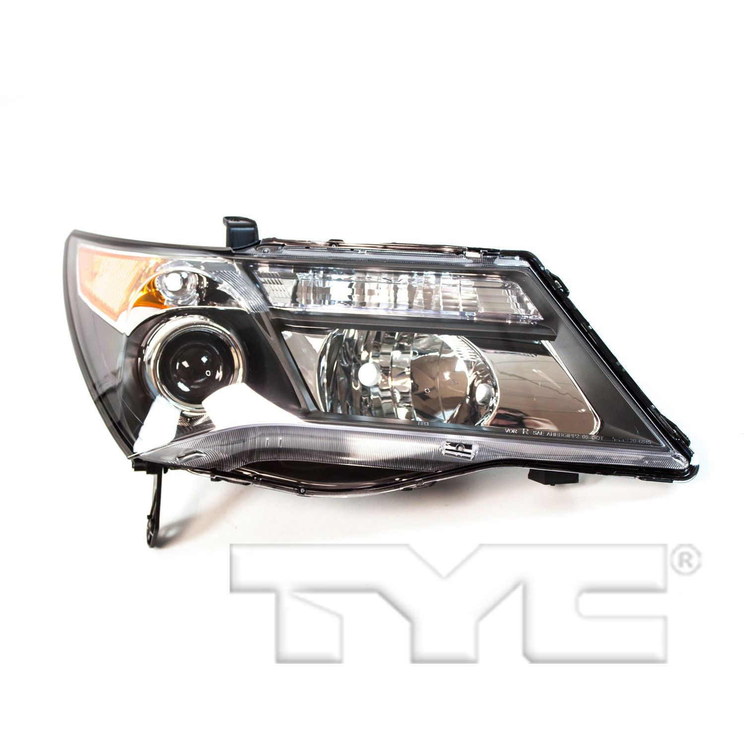 Right Side Replacement Headlight Assembly For 2007-2009