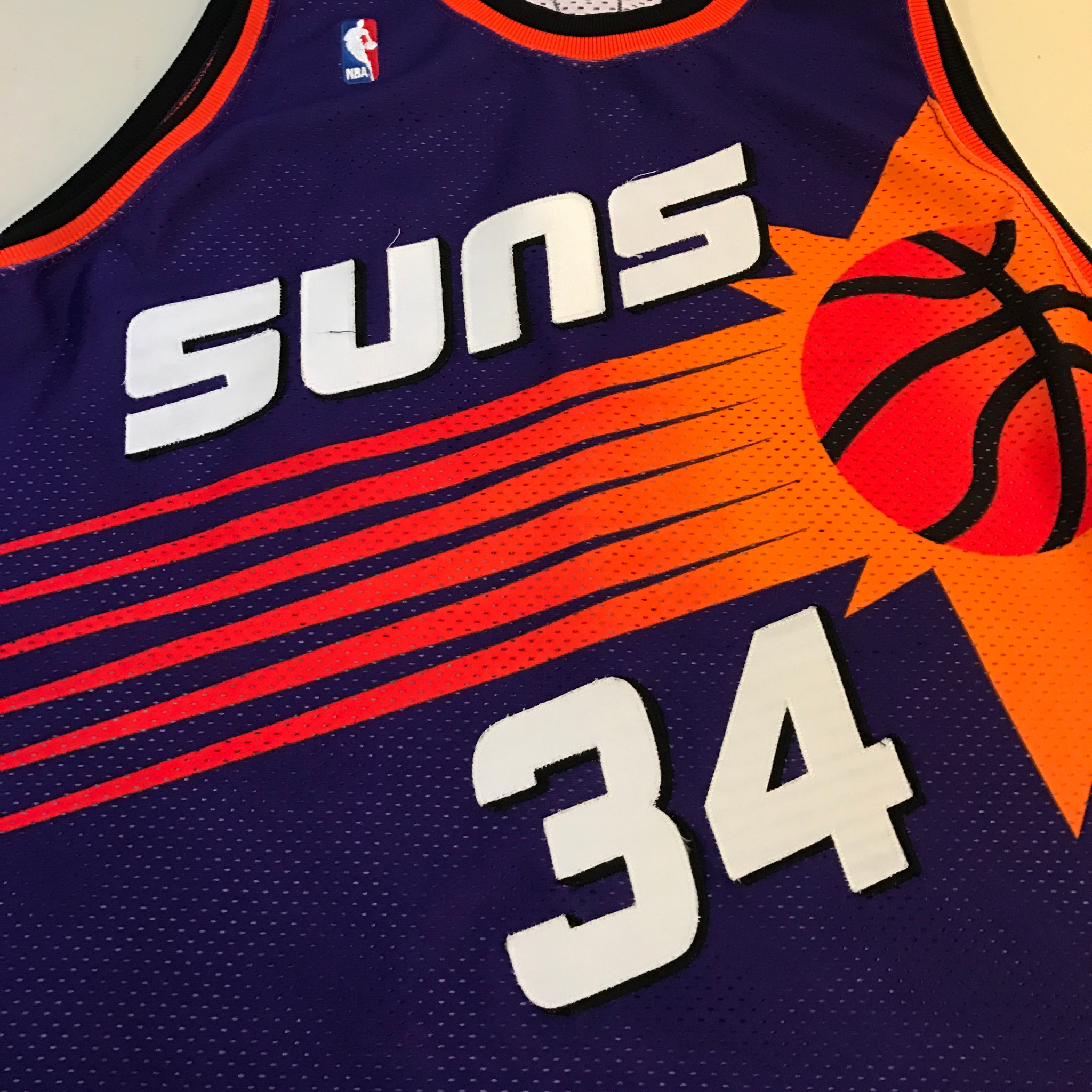 One Of The Finest 1992-93 Charles Barkley Game Used Signed Phoenix ... ea0b232a8