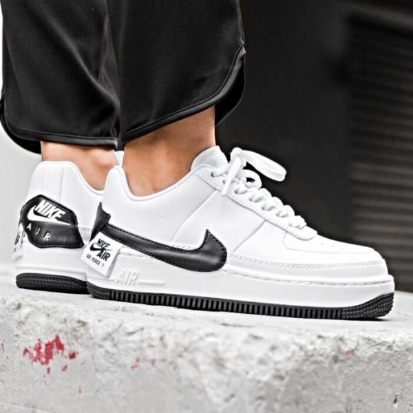 Details about Nike Air Force 1 Jester XX Sneaker White and Black Size 6 7 8 9 Womens Shoes New