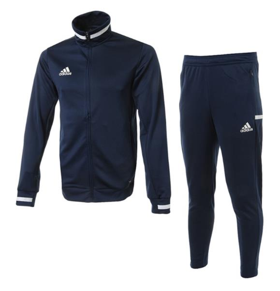 8b238e1fc Details about Adidas Men TEAM 19 Track Jackets Training Suit Set Navy GYM  Jacket Pant DY8838