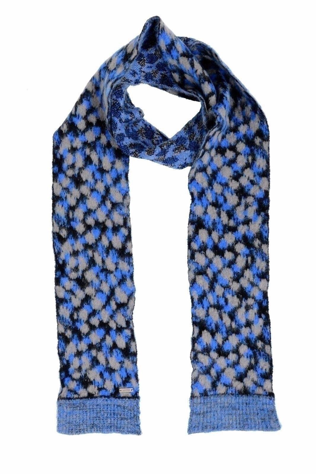 Just Cavalli Unisex Multi-Color Knitted Long Scarf