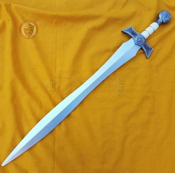 Details about Celtic Weave Sword - Rubber Foam LARP polyurethane weapon