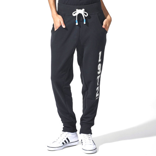 f7f9ecbdde88 adidas Originals Womens LE Baggy French Terry Track Pants Jogger ...