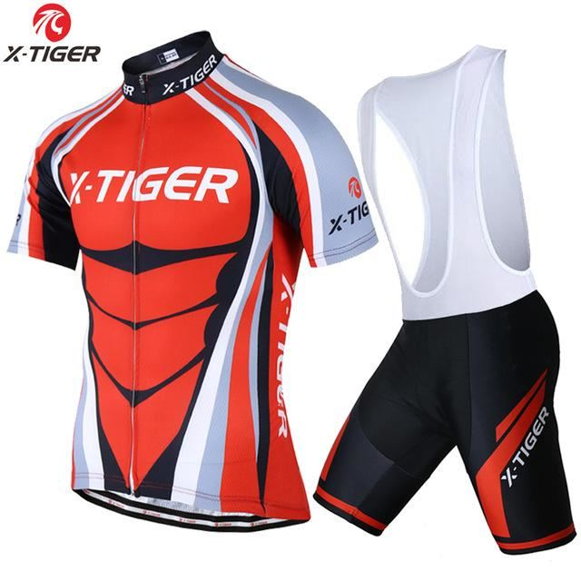 Model Number  X-Tiger-Hercules Material  100% Polyester and 20% Lycra  Jerseys Material  100% Polyester Model Number  2018. Sport type  Cycling  Bike Bicycle ... be06a292a