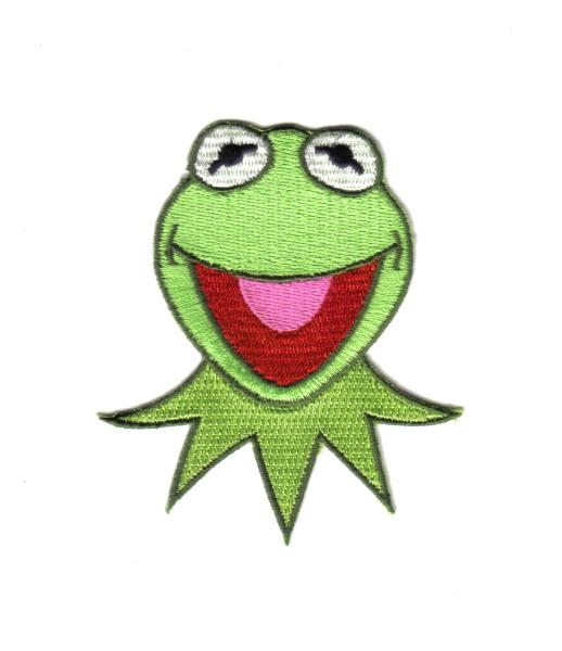 THE MUPPETS KERMIT THE FROG BELT BUCKLE NICE COLORS LICENSED NEW!