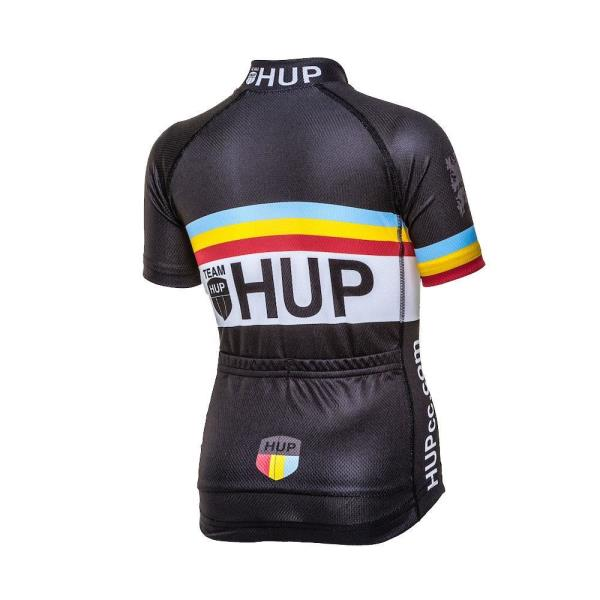 Details about TEAM HUP Kids Short Sleeved Cycling Jersey (6 Junior sizes)  for children 6545d6edc