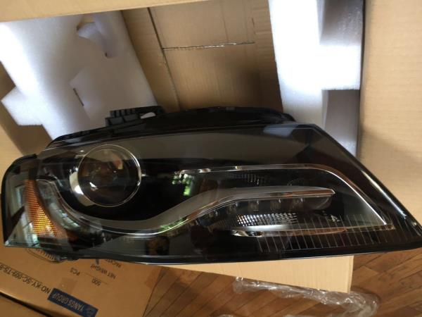Details About Audi A4 B8 S4 Style Headlight Right Passenger Hid Led Drl 2009 2010 2011 2012