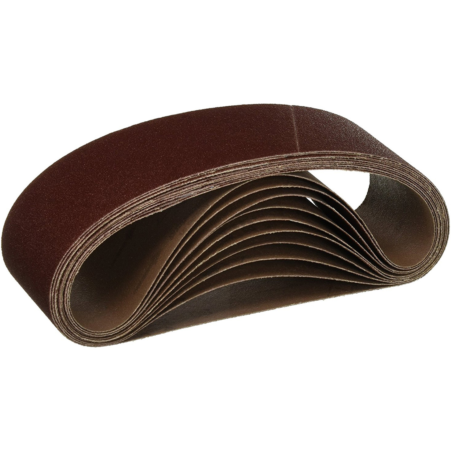 "10 PACK 4/"" x 36/"" Inch 60 Grit A//O Metal /& Wood Sanding Belts Medium Coarseness"