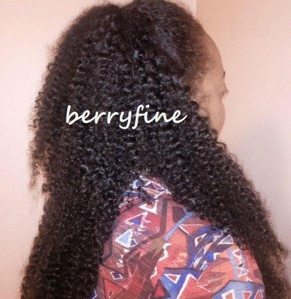 234pc Virgin Mongolian Kinky Curl Hair Wefts Extension Tracks