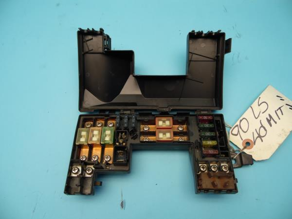 details about 90 93 acura integra oem under hood fuse box with fuses \