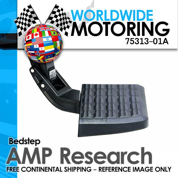 Amp-Research 75313-01A Bed Step Trail Series for 17-18 Ford F250//F350 Super Duty