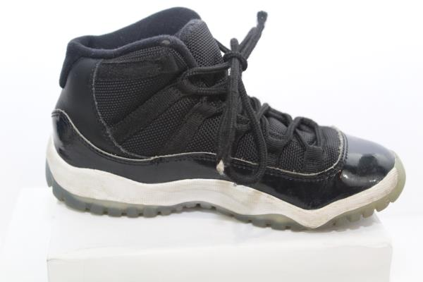 great prices new lower prices low price Jordan 11 XI Retro Space Jam Little Kids 378039-003 Black ...