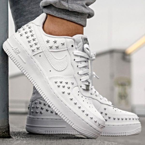 8 Details 1 7 Shoes Force Star Womens About White 100 Air 9 Ar0639 Size 6 Studded Xx Nike Wmns kXwOP08nN
