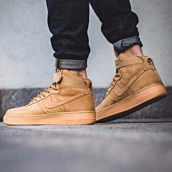 release date: dc735 36818 Details about Nike AIR FORCE 1 HIGH '07 LV8 WB Brown Size 7 8 9 10 11 12  Mens shoes 882096-200