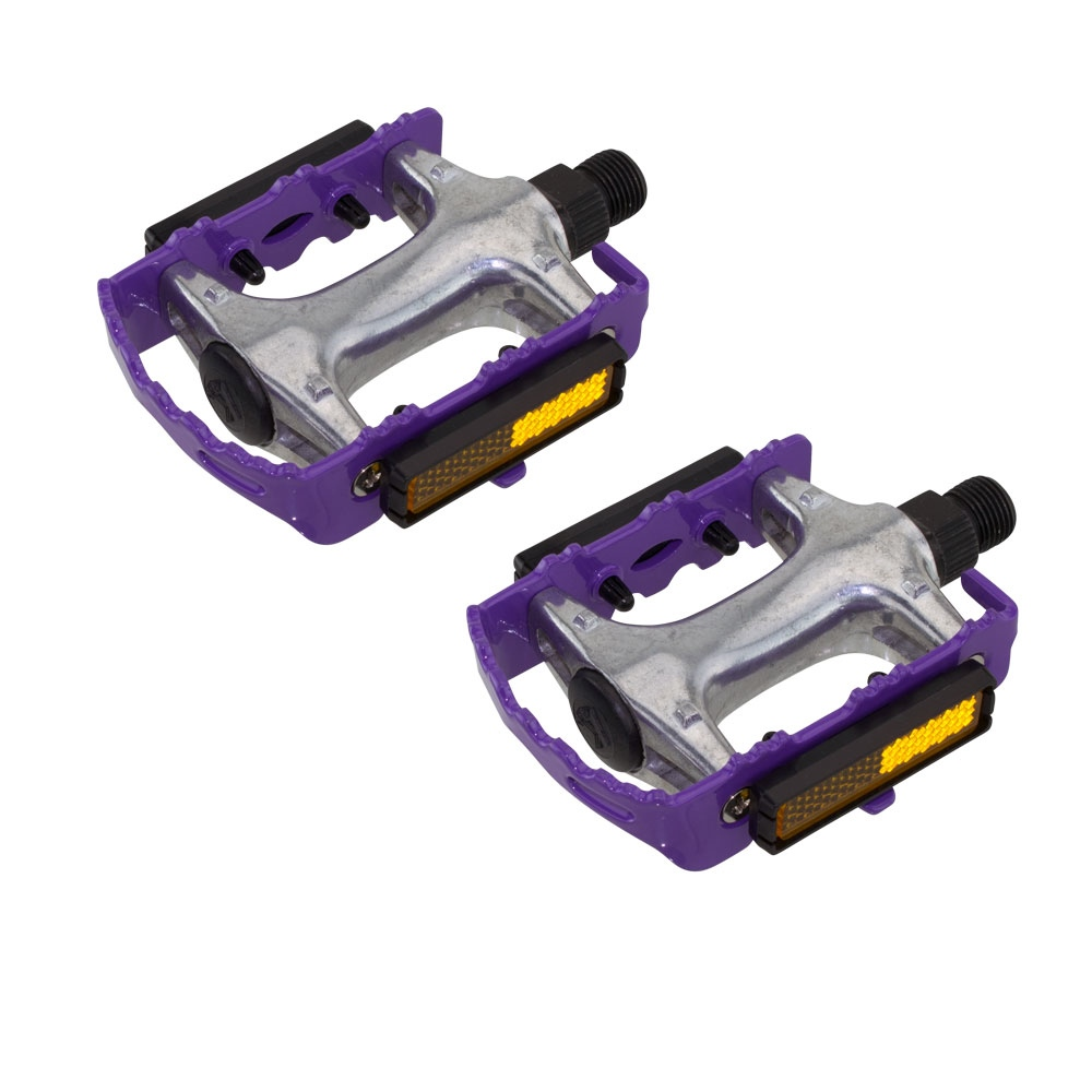 """Blue ROAD MTB 940 Alloy Pedals 9//16/""""  cruiser 9//16 pedal.fixie bicycle pedal"""
