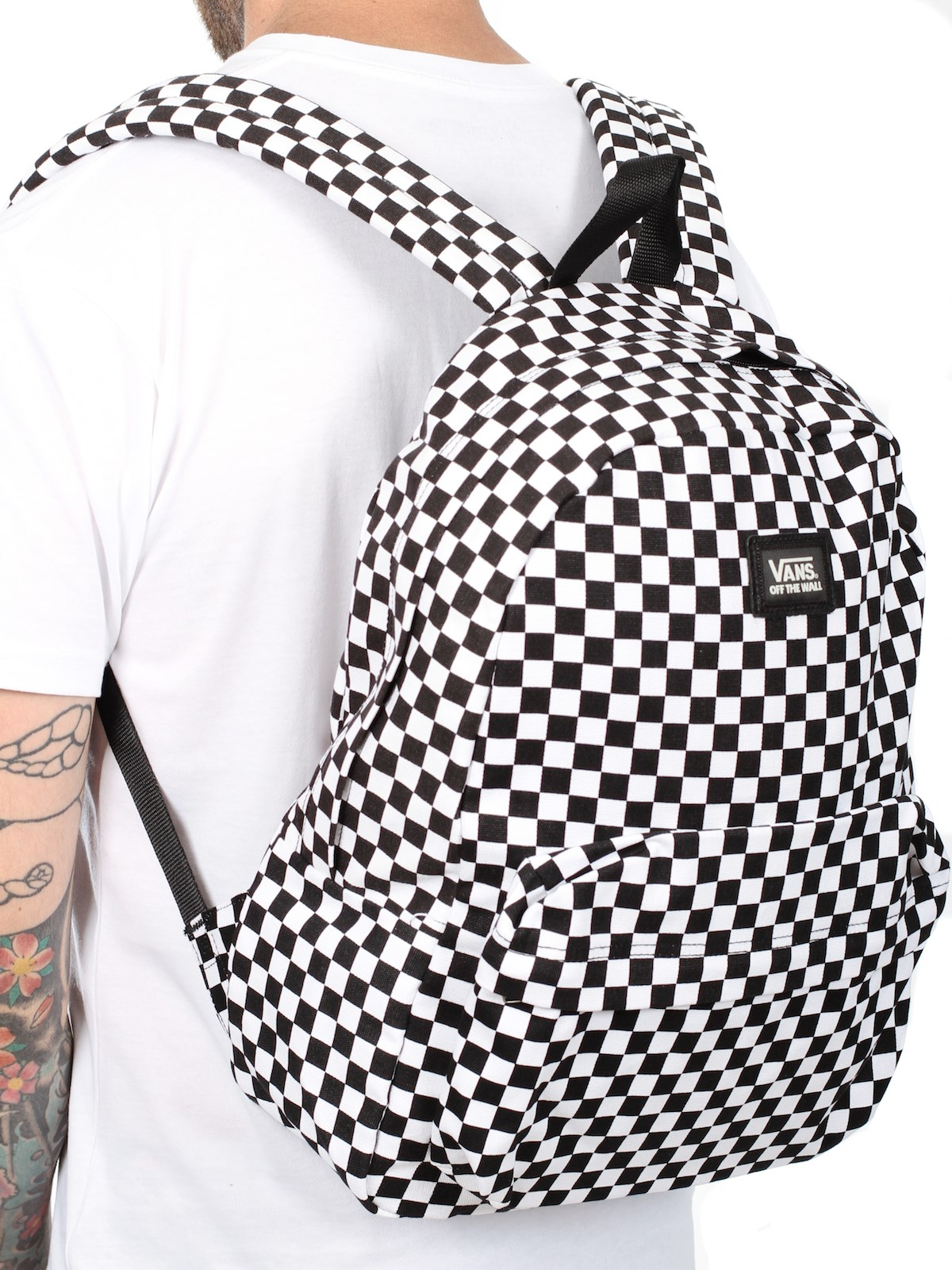 VANS Backpack Old Skool II Checkerboard FREE POST Skateboard Surf School Bag