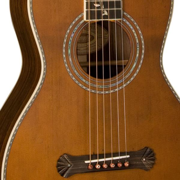 New Washburn Revival Series R320swrk All Solid Parlor Acoustic