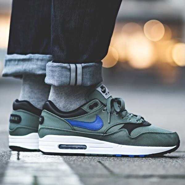 hot sale online 03706 e7295 Nike Air Max 1 Premium Sneakers Clay Green Size 7 8 9 10 11 Mens Shoes New