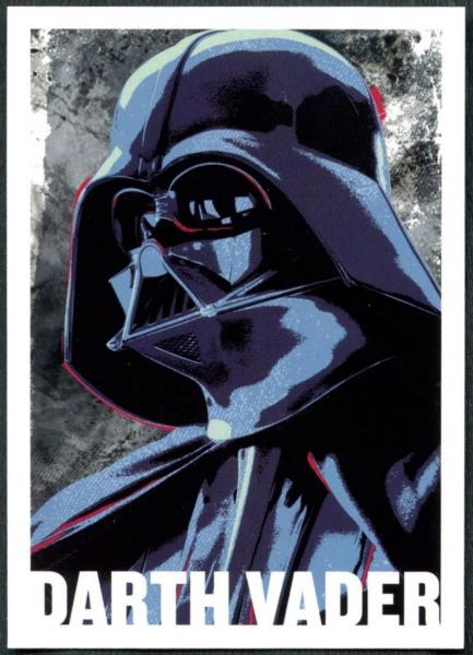 C1747 Darth Vader #CI-1 Star Wars Rogue One S1 Character Icon Topps Chase Card