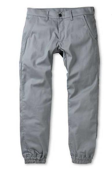 MADE IN USA NEW MENS 30 32 KENNEDY THE WEEKEND JOGGERS GREY DENIM JOGGER PANTS