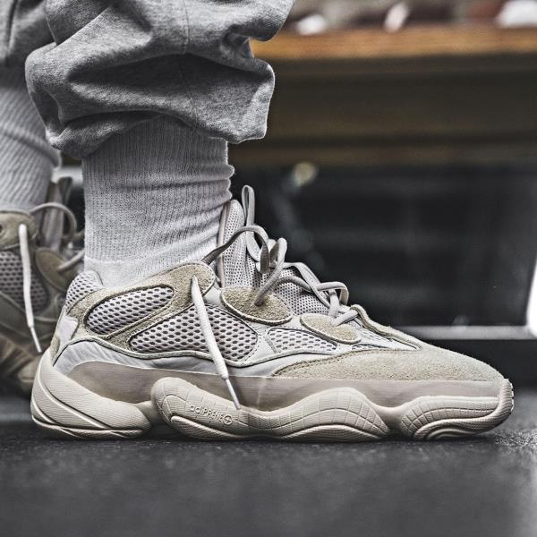 reputable site 231b3 806ef Details about Adidas Yeezy 500 Salt White Size 7 8 9 10 11 12 Mens Shoes  Kanye West EE7287