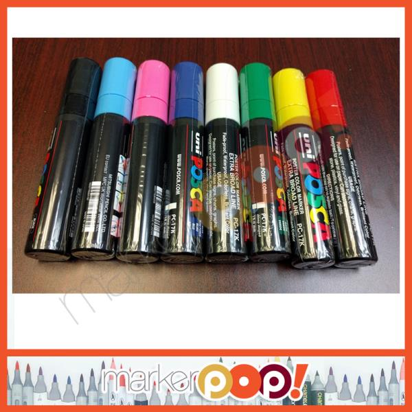 Uni-Ball Posca PC-17K Extra Broad Chisel Tip Marker 1 each Red