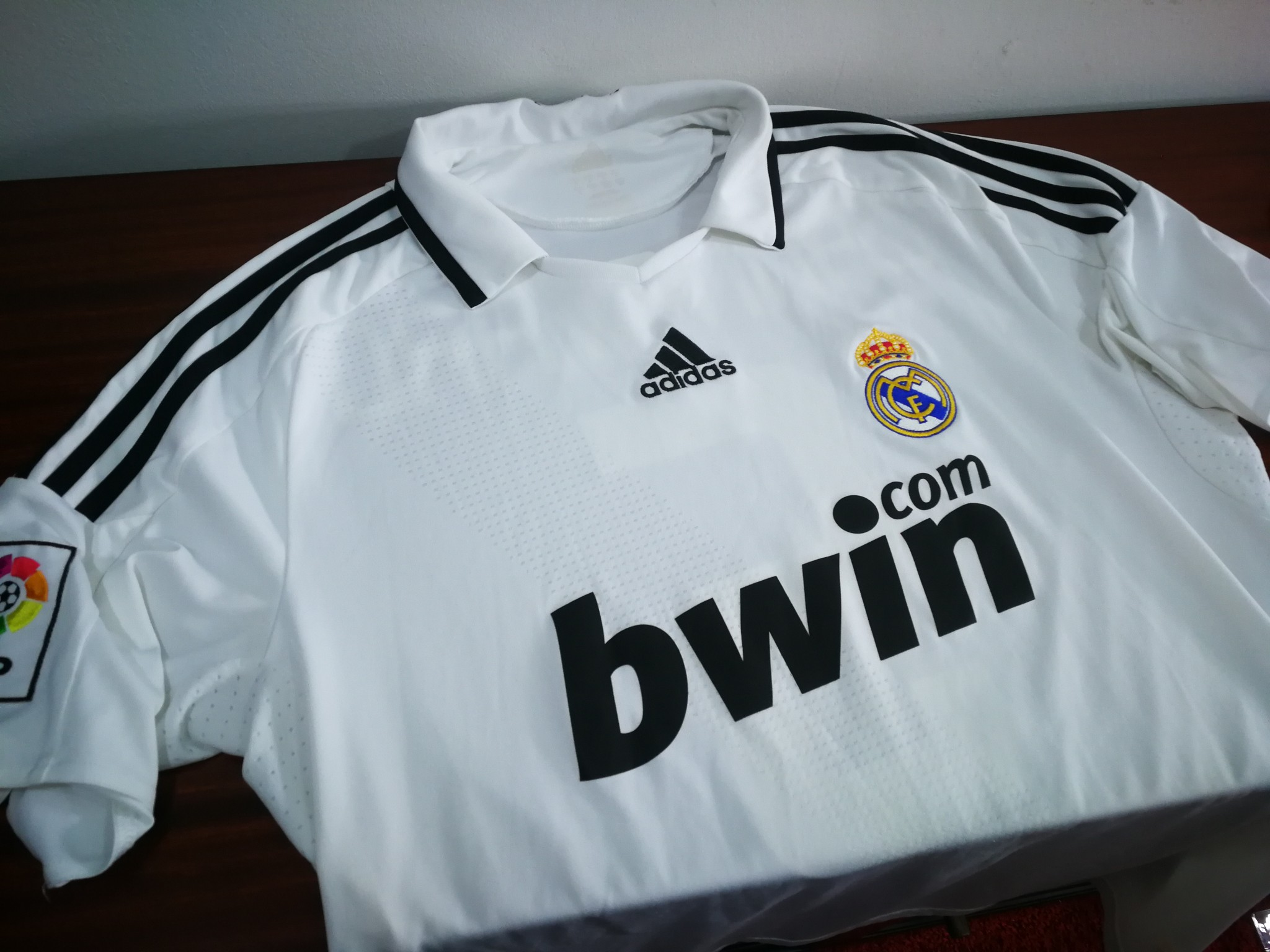 61fef6ef46c REAL MADRID home 2008 09 shirt - CANNAVARO  5 - Italy-Juventus-Maglia-Jersey  (L). Click on the Image to Enlarge