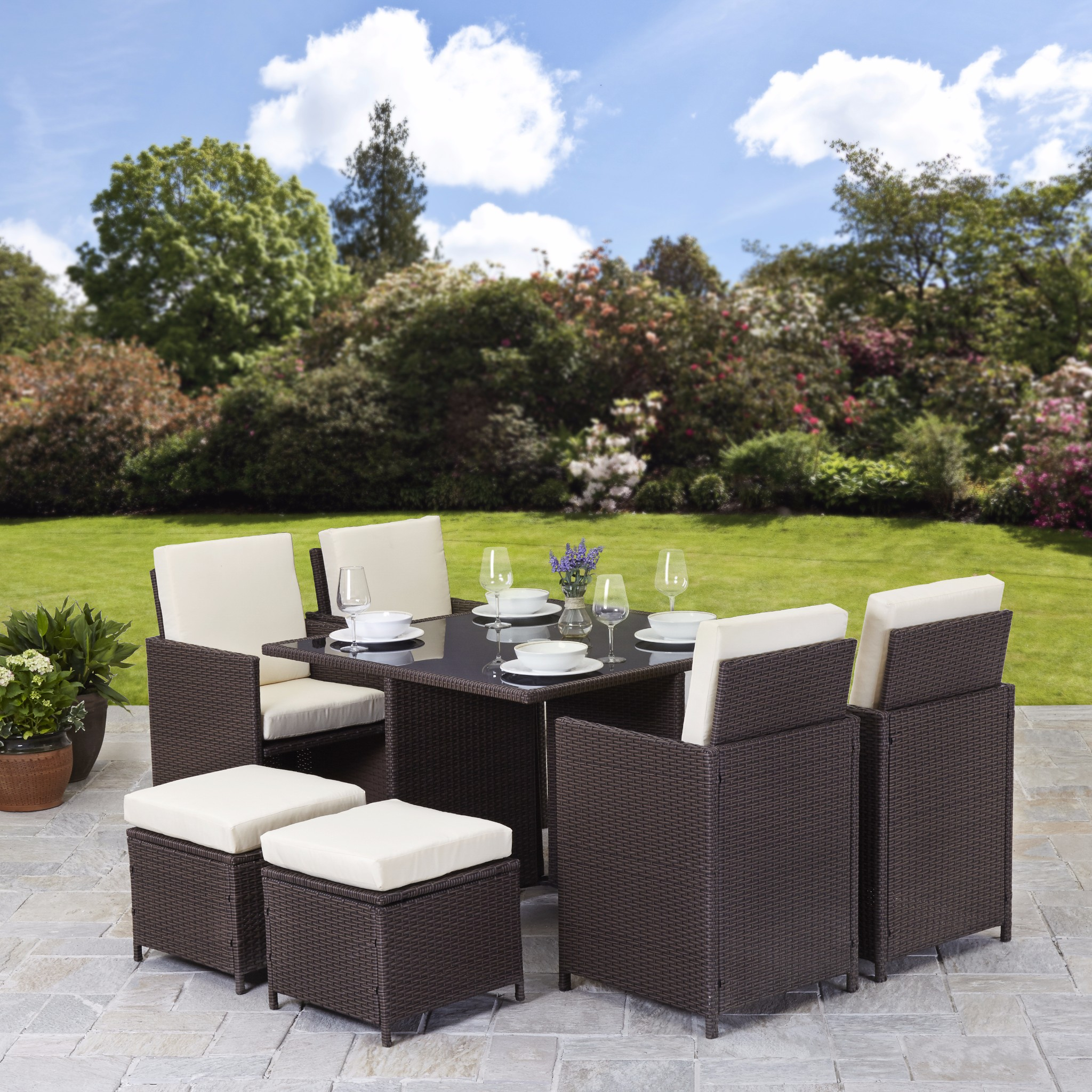 furniture patio set condition new uk delivery cost free brand bella life