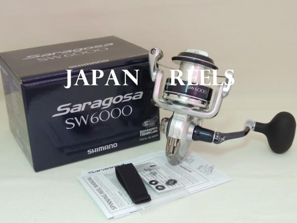 Details about NEW SHIMANO SARAGOSA SW 6000 6000 6000 SW SPINNING REEL *1-3  DAYS FAST DELIVERY*