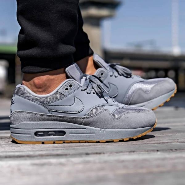 buy online 7091d a8b21 Details about Nike Air Max 1 Sneakers Cool Grey Size 8 9 10 11 12 Mens  Shoes New