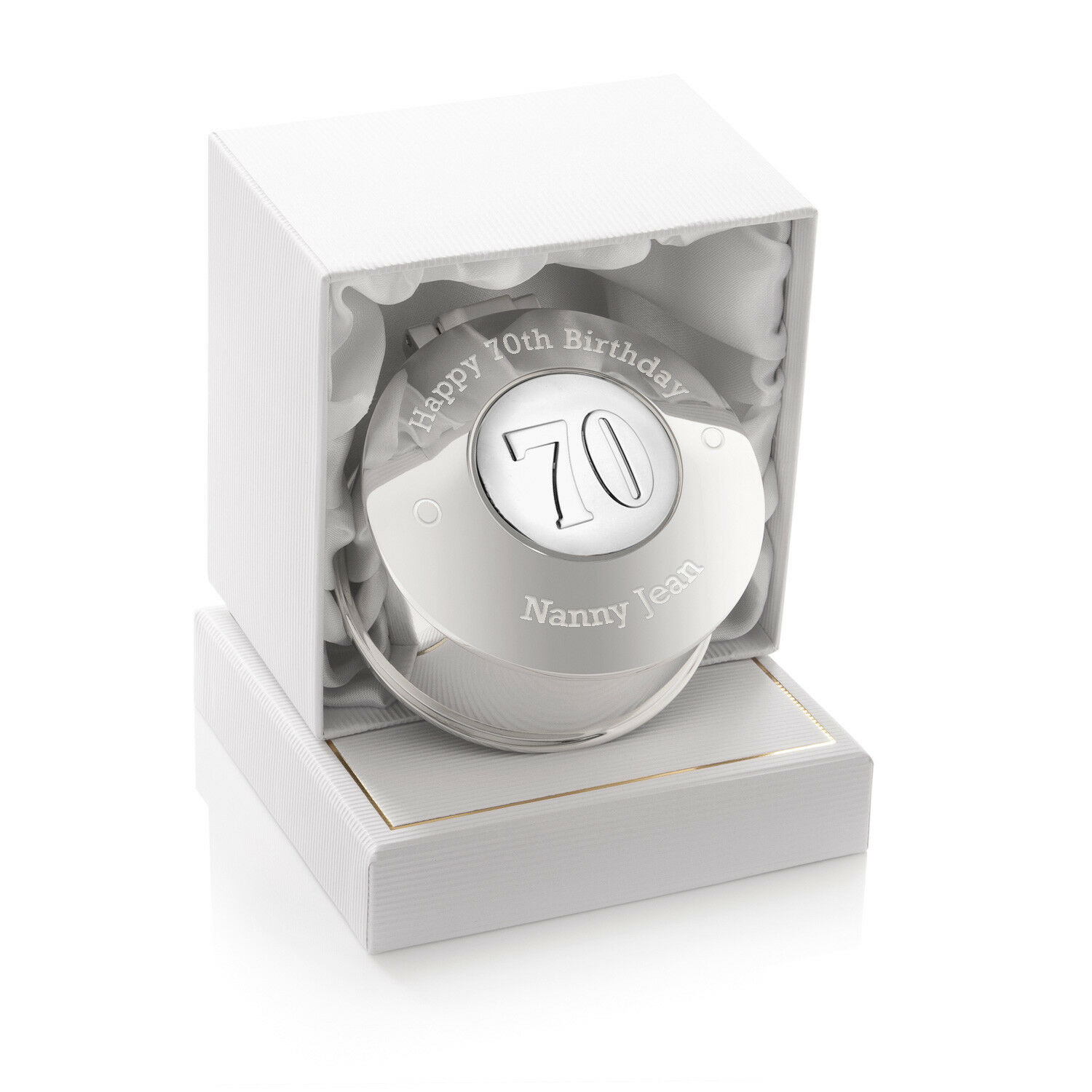 Details About Girls 70th Birthday Gift Engraved Small Trinket Box Seventieth Seventy 70 Gifts