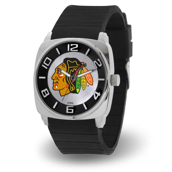 reputable site 4ed73 324a3 Details about Chicago Blackhawks Men's Forever a Fan Watch NHL Hockey  WTF7701