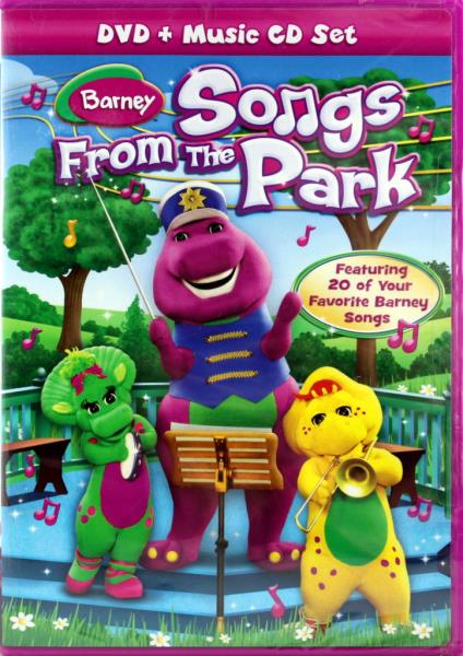 Barney Songs From The Park New Dvd And Cd Educational