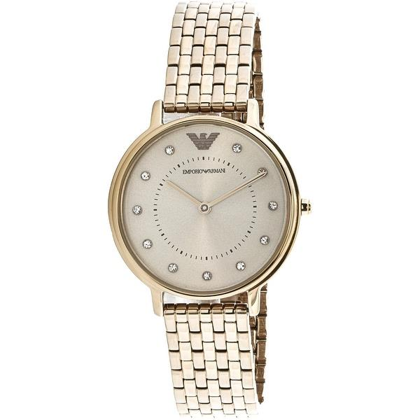 100% New Emporio Armani AR11062 Gold Stainless Steel Fashion Women ... 3015cbcad
