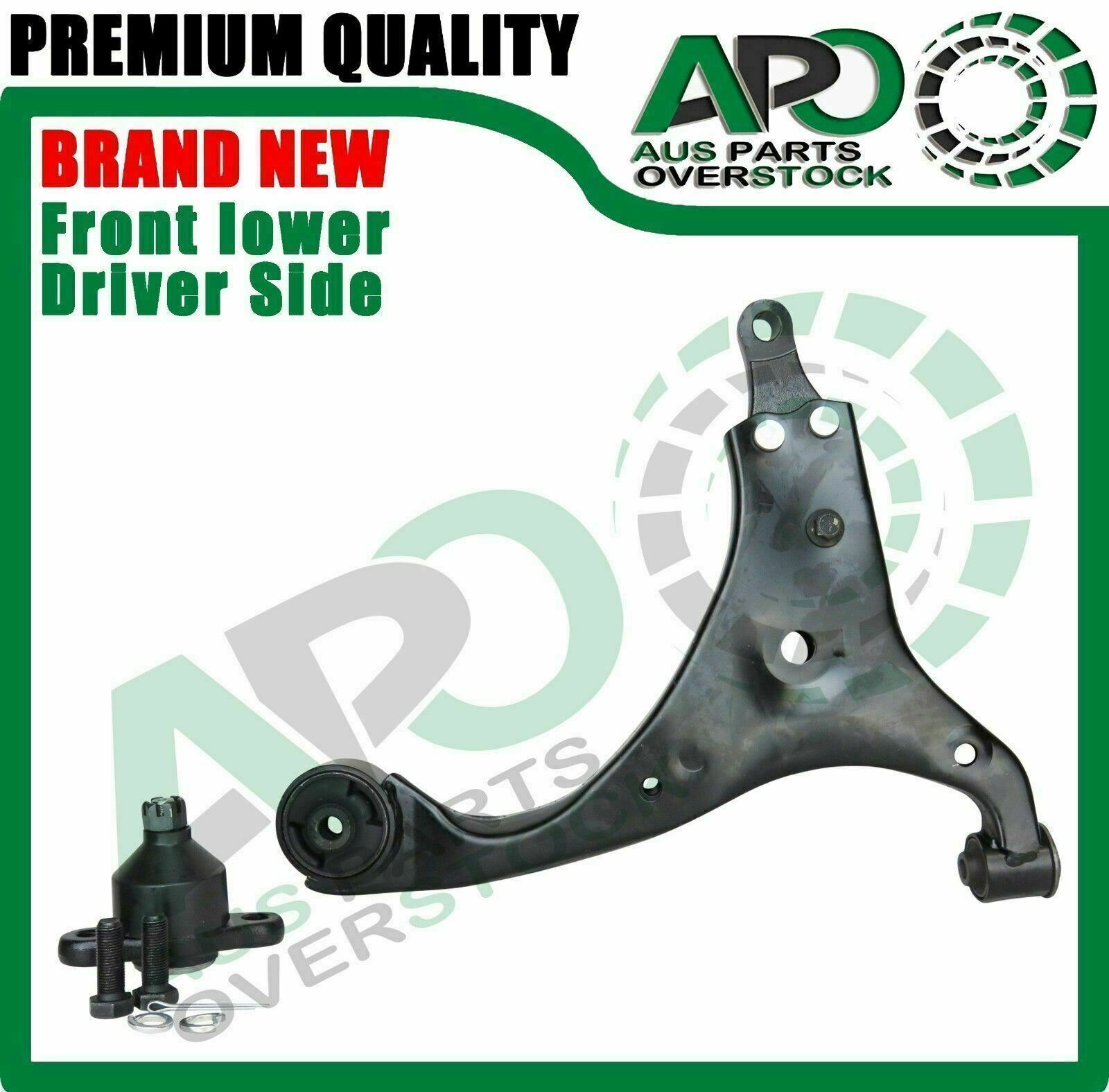 2 FRONT LOWER BALL JOINT FOR HYUNDAI I30 05-10