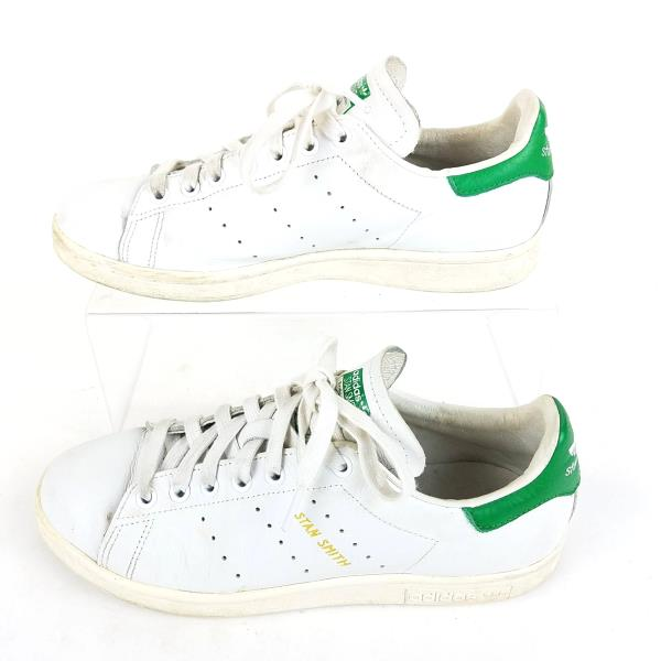 7d0d841658b5a3 Details about Adidas Original Stan Smith Mens Sneakers 7.5 White Green Vintage  OG S75074