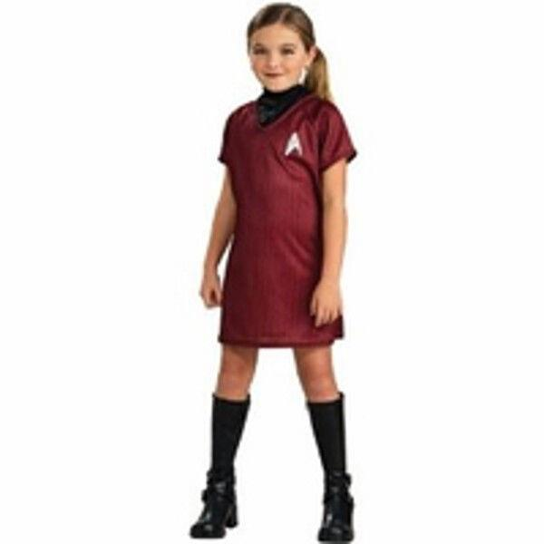 Details about Childs Star Trek Red Dress Costume