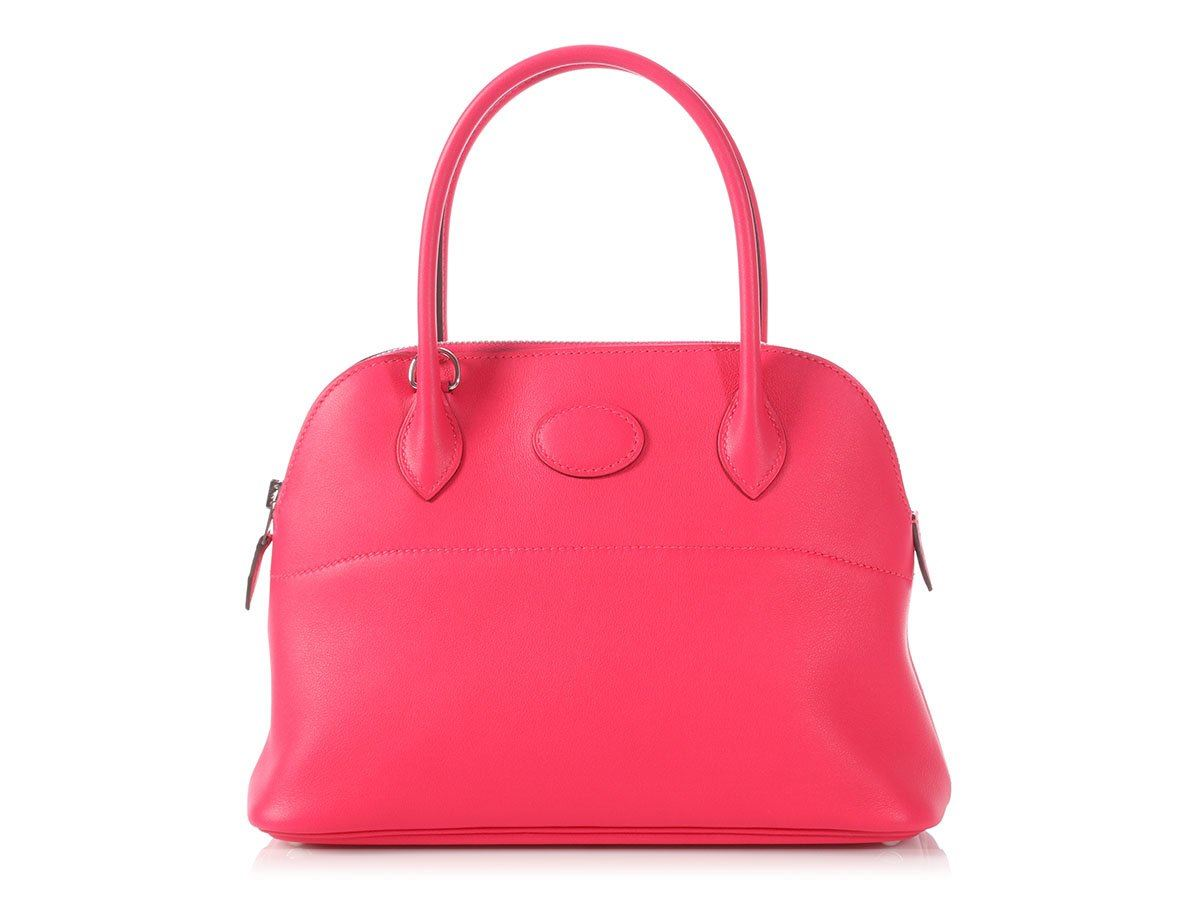 803b92ac21 New HERMES 2018 Rose Extreme Swift Bolide 27 Bag Purse ~ Pretty pink ...