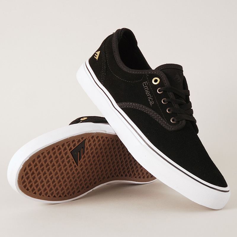 Emerica Shoes Wino G6 Black White Jeremy Leabres FREE POST New Skateboard Sneakers