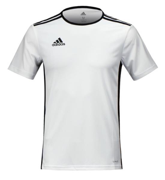 best authentic save up to 80% low price sale Details about Adidas Men ENTRADA 18 S/S T-Shirts Climalite White Football  Tee Jersey CD8438