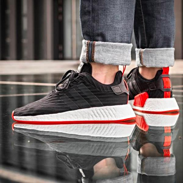 Champs Exclusive Cheap Adidas NMD R1 On Feet