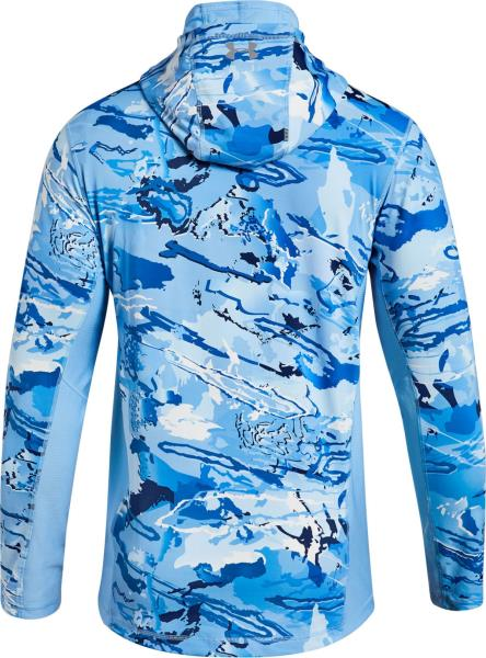 4b333bc1de7f2 Under Armour Men's CoolSwitch Thermocline Hydro Camo Hoodie. Great for a  day on the lake, casting from the shore or your boat.