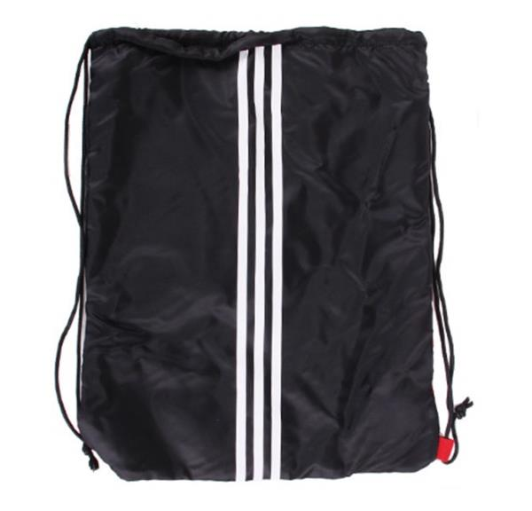 fe09860019 Details about Adidas Tiro Football Back Shoes Bags Black Red Running Casual  Sacks Bag 09829