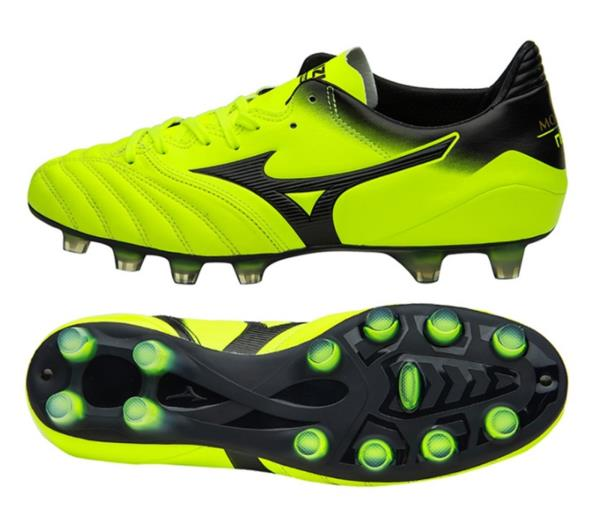 4cea2e74667 Mizuno Men Morelia Neo KL MD Cleats Soccer Football Volt Shoes Spike ...