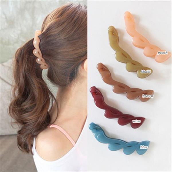 Beautiful Horsetail Hair Clips Banana Clips Claw Clamps Hair Grip