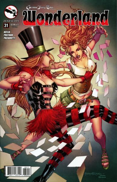 or better NM Grimm Fairy Tales Presents Wonderland 21 Cover B