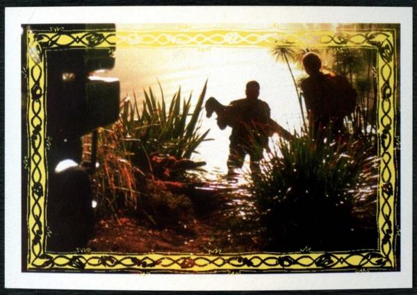 C1248 #148 Jurassic Park The Lost World 1997 Merlin Sticker