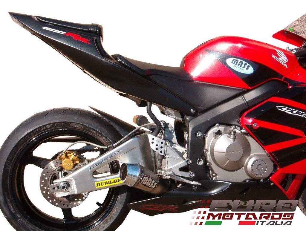 Details About Honda Cbr 600 Rr 2005 06 4in1 Low Massmoto Exhaust Full System Tromb Titan Curve
