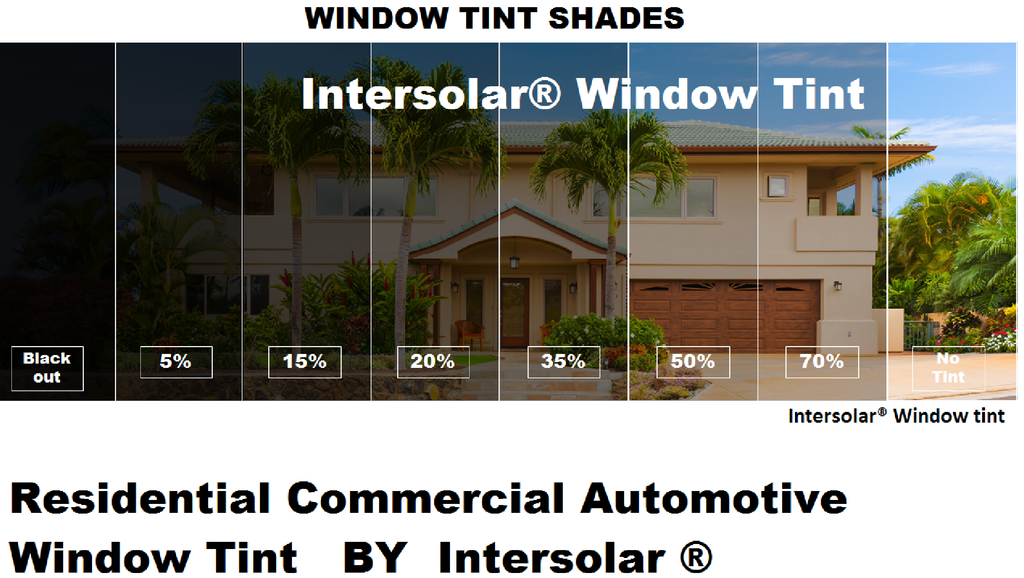 2 Ply Window Tint Black Residential Commercial Automotive